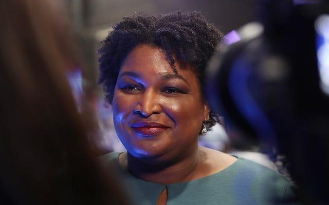Stacey Abrams รู้เสมอว่าจอร์เจียอาจเป็นสีฟ้า