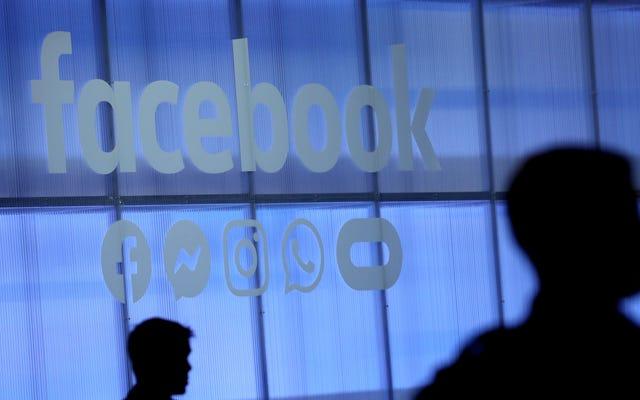 Facebookは、抗議に潜入するために、憎悪グループとスキームにリンクされたほぼ200のアカウントを削除します
