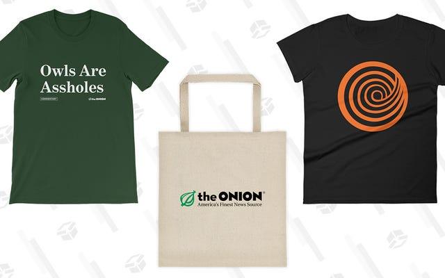 Esta oferta no es una broma: obtenga un 20% de descuento en su compra en la tienda en línea Onion and ClickHole para el Cyber Monday