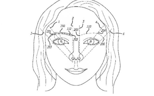 Phương pháp tạo hình lông mày đã được cấp bằng sáng chế này sử dụng tỷ lệ vàng