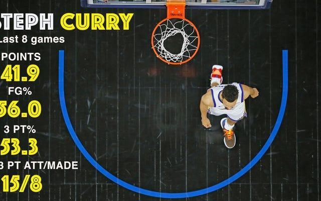 Apakah Anda mencium aroma Steph Curry yang dimasak? Harapan playoff W ditingkatkan menjadi mendidih