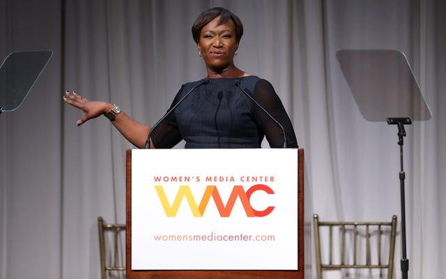 Joy Reid de MSNBC sauve Joe Walsh après avoir utilisé le N-Word sur Twitter