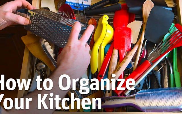 Mutfağınızı Düzenlemenin Hızlı ve Kolay Yolları