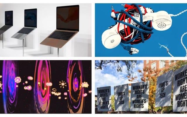 Objets interstellaires, Google Walkout et l'ordinateur portable impossible: les meilleures histoires de Gizmodo de la semaine