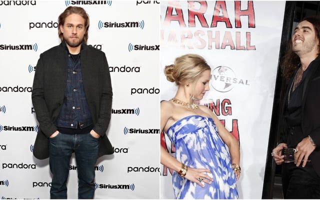 Estamos preocupados por los resultados teóricos, así que ¿por qué no considerar a Charlie Hunnam interpretando el papel de Russell Brand en Forgetting Sarah Marshall?