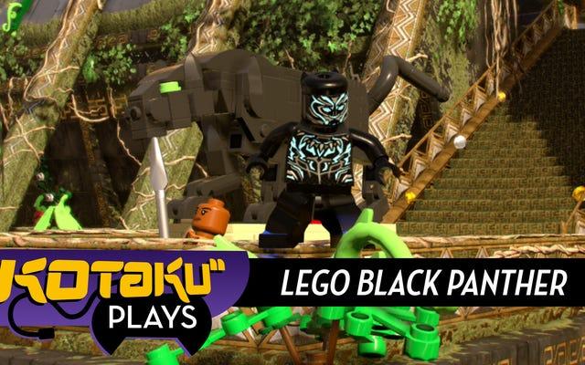 लेगो मार्वल 2 के ब्लैक पैंथर डीएलसी से बहुत उम्मीद मत करो