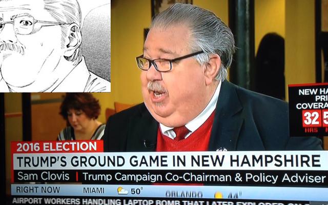 ドナルド・トランプの顧問は漫画のキャラクターとまったく同じように見えます