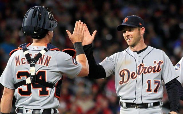 Andrew Romine a joué les neuf positions défensives pour une tranche cool de l'histoire de la MLB