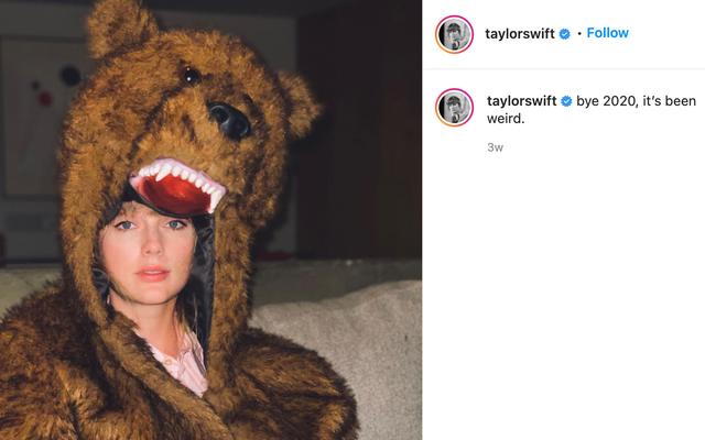 Como el mayor fan autoproclamado de Taylor Swift ... ¿Qué diablos?