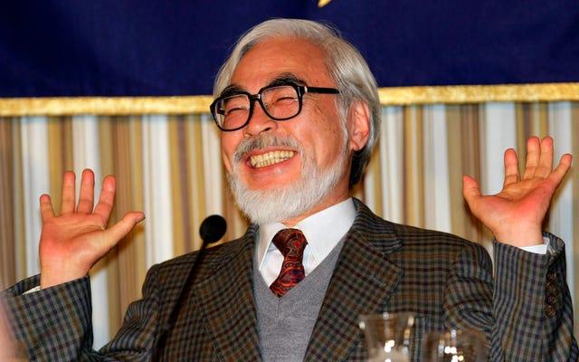 Подтверждено: Хаяо Миядзаки покидает пенсию и вернется в кинотеатры с новым художественным фильмом