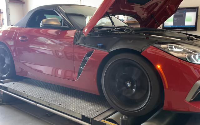 La prueba Dyno revela que el BMW Z4 2020 tiene mucho más par de lo que BMW afirma