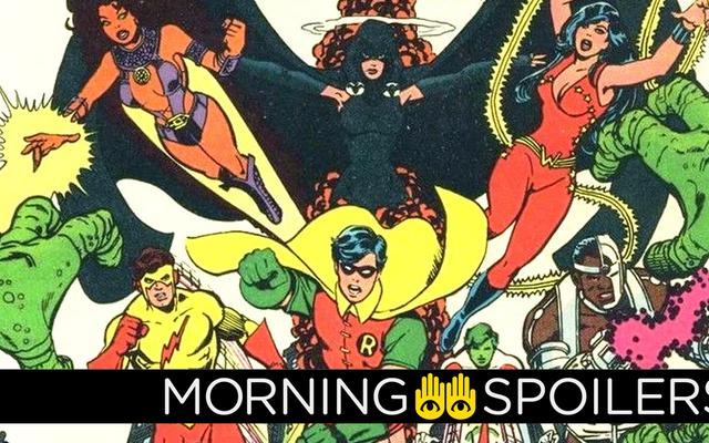 ¿Podría el programa de acción en vivo de los Teen Titans incluir a otro miembro famoso del equipo?