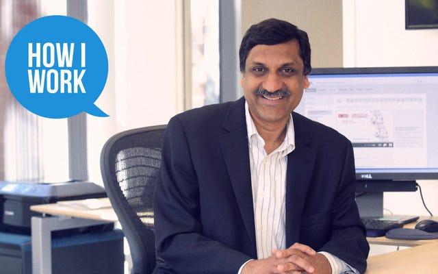 Я Анант Агарвал, генеральный директор edX, и это то, как я работаю