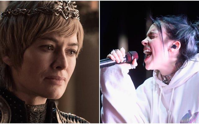 Cersei Lannister en tant que chanson de Billie Eilish fait peur