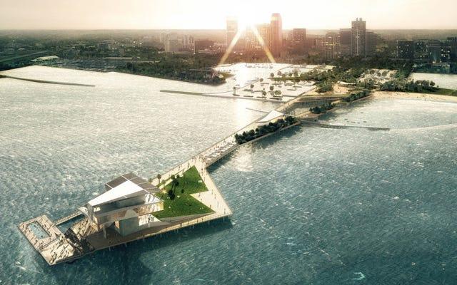 Un nuevo muelle de Florida está diseñado para enfrentar la realidad del aumento del nivel del mar
