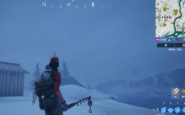 Fortnite wypełnia się tajemniczymi śnieżycami