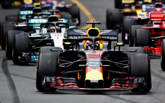 F1 TVの「一時的なブリップ」は、今年の最も重要なレースの1つの始まりを黒く塗りつぶしました