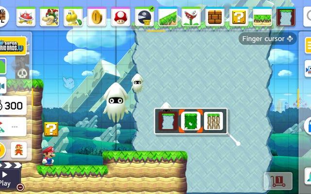 Internet có một số ý tưởng để biết thêm kiểu trò chơi Mario Maker 2