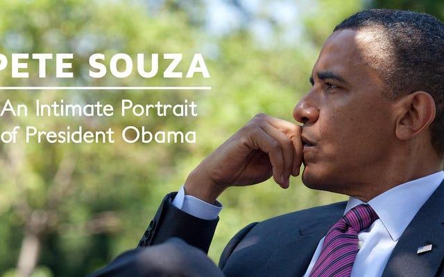 Büyük Bir Kadeh Şarap Dökün ve Çatlayın Resmi Obama Başkanlığı Fotoğraf Kitabını Şimdiye Kadarki En İyi Fiyat İçin Açın
