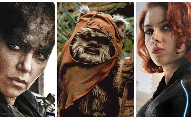 Wenn Sie Return Of The Jedi mögen, aber die Ewoks hassen, verstehen Sie feministische Kritik