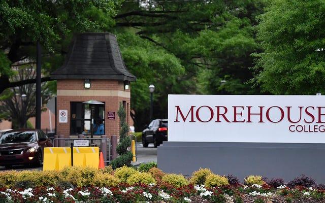 Morehouse College Menawarkan Program Online untuk Pria Kulit Hitam Yang Memiliki Kredit Perguruan Tinggi tetapi Tidak Memiliki Gelar