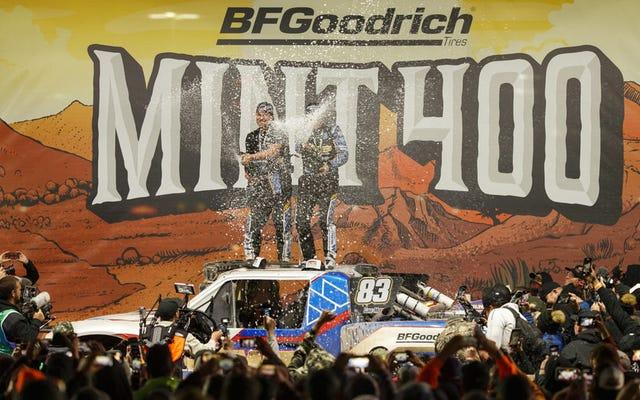 La famigerata gara fuoristrada Mint 400 del Nevada aggiunge la classe EV