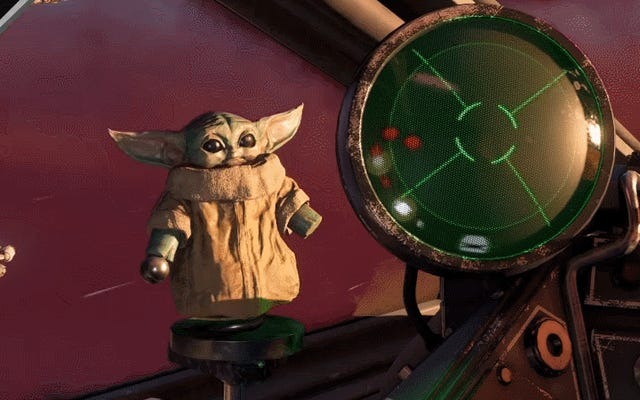 Star Wars: Squadrons Is Getting Baby Yoda Bobbles And Not Much Else