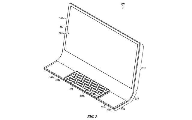 Un brevet laisse entendre qu'Apple prépare peut-être un iMac en verre courbé