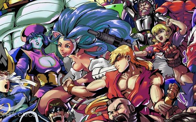 Chaque personnage de Marvel contre Capcom, enfin ensemble