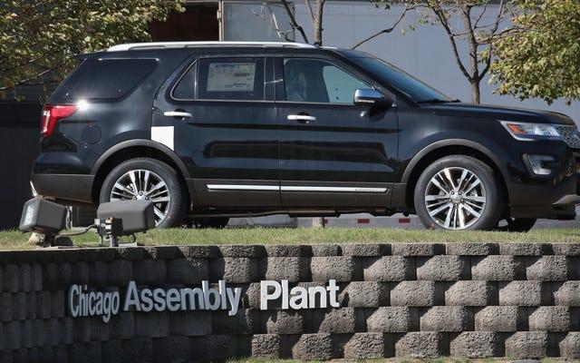 1,2 million d'explorateurs Ford rappelés en raison de la rupture de la suspension