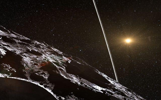 天文学者は小惑星キロンの周りのリングを検出した可能性があります
