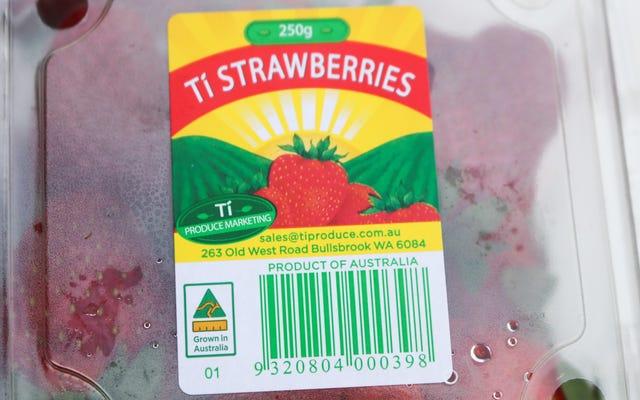 果物に針を刺したとして逮捕されたオーストラリア人女性[更新]
