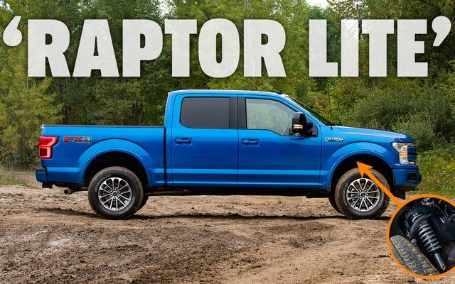 フォードの種類の作られた「ラプターライト」バージョンのF-150とレンジャーと新しい工場アップグレード