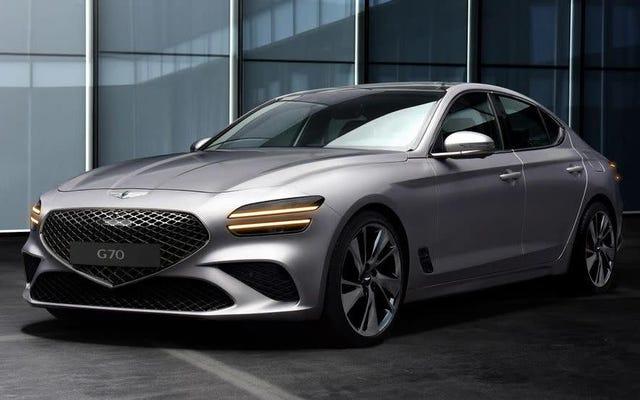 2022 Genesis G70 trông rất đẹp