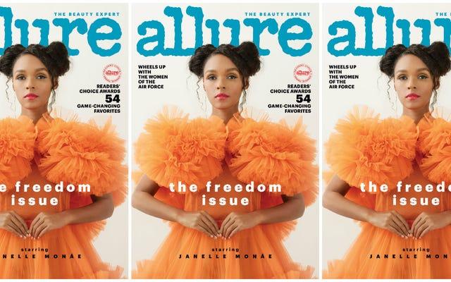 Свобода превыше страха: Джанель Монаэ освещает проблему свободы Allure