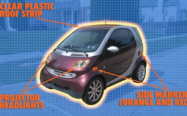 Comment la minuscule Smart Fortwo de première génération a réussi à respecter la règle d'importation de 25 ans