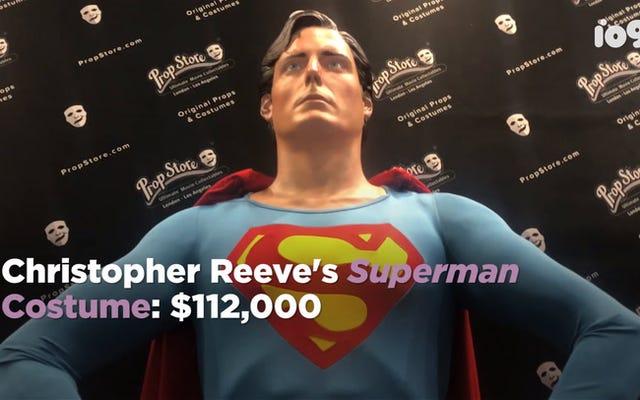 Alat Peraga Geek Terkenal Dari Superman, Star Wars, dan Lainnya Dipajang Penuh di Comic-Con