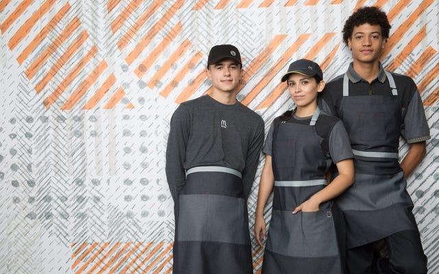 Los nuevos uniformes de McDonald's prometen marcar el comienzo de la distopía de Logan's Run que todos hemos estado esperando