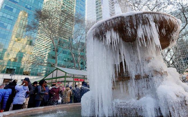 米国東部ではどういうわけかさらに寒くなるだろう