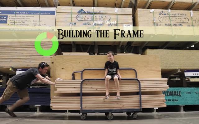 ショーオフは息子にブレスオブザワイルドプレイハウスを建てます、そして私たちはまったく嫉妬していません、サー