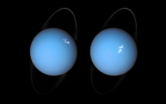 पृथ्वी से बहुत बड़ी वस्तु यूरेनस पर दुर्घटनाग्रस्त हो सकती थी