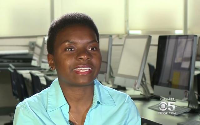 Une adolescente de Californie surmonte sa vie d'abus et d'itinérance pour devenir une étudiante d'honneur