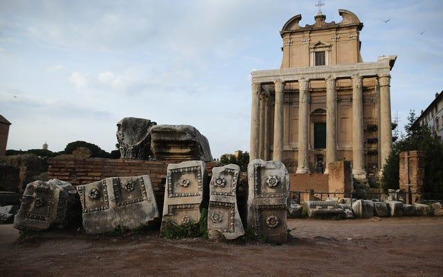 Khí hậu, Bệnh dịch và Sự sụp đổ của Đế chế La Mã