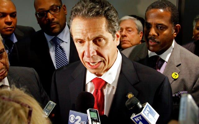ニューヨーク州知事アンドリュー・クオモは、ネット中立性に違反するISPとの契約に署名しないように州に命じます