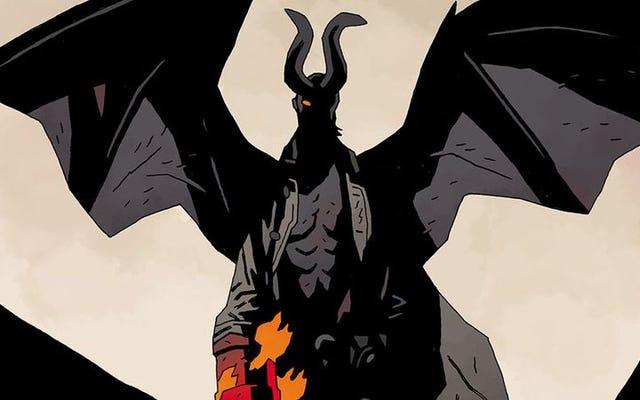 マイク・ミニョーラは、彼の署名作品をHellboy In Hell#10で休ませます