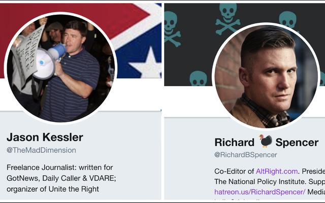 Twitter supprime le badge de vérification des comptes des nationalistes blancs et modifie les politiques de vérification