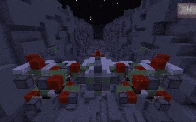 Minecraft X-Wing, Dalam Perjalanan untuk Meledakkan Death Star
