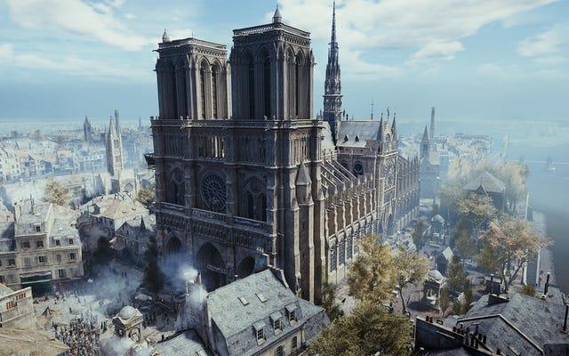 Ubisoft มอบ Assassin's Creed Unity สำหรับพีซีเพื่อเป็นเครื่องบรรณาการแด่ Notre Dame
