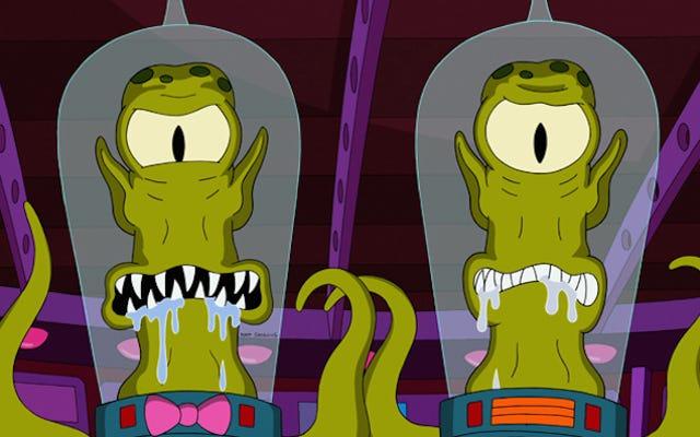 La trama de la abducción extraterrestre que podría haber sido la película de Los Simpson 2