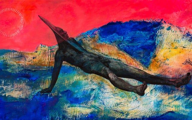 Cette exposition d'art `` spirituelle, mythique et fictive '' explore notre lien avec la Terre